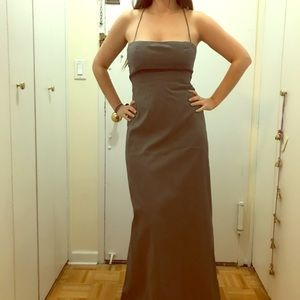 Vintage Theory Grey Full length Dress